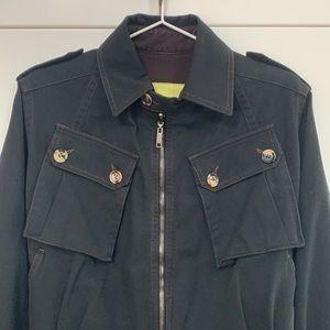 Burberry Women's Cotton Jacket - Size 2